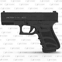 Пистолет стартовый Retay G 19C 14-зарядный, black