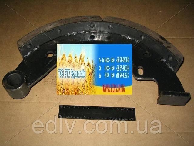 Колодка гальмівна ЗІЛ передня з накладкою (пр-во Самбірський ДЕМЗ) 130-3501090