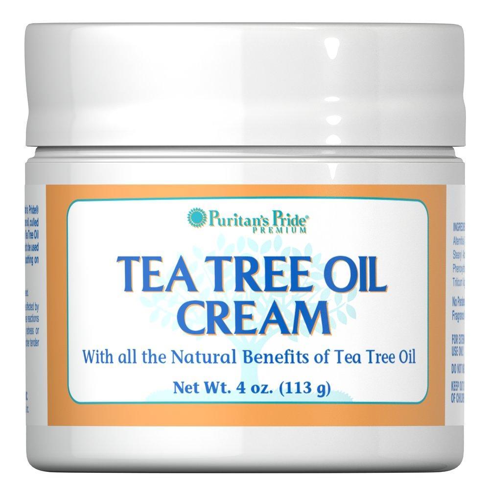 Puritan's Pride Tea Tree Oil Cream 4 oz (113 гр.)