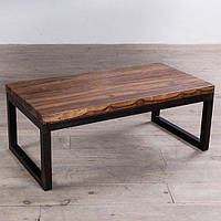 """Журнальный столик с живым краем """"Stem"""", кофейный столик, столик для прихожей, маленький столик"""