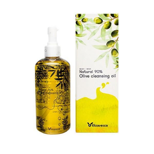 Гідрофільна олія Elizavecca Natural 90% Olive Cleansing Oil