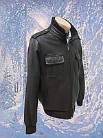 Кожаная куртка US. POLO. ASSN    р.46  б/у