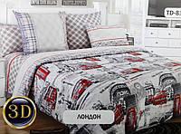 """Комплект постельного белья """"Лондон 3D """" Бязь, хлопок"""