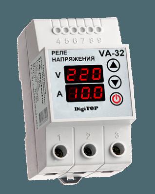 Реле напряжения с контролем тока