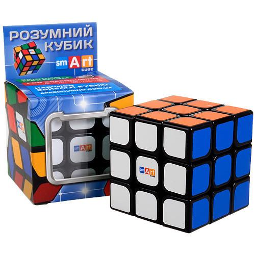 Кубик рубик 3х3х3 Черный Флюо Smart Cube SC321, головоломка