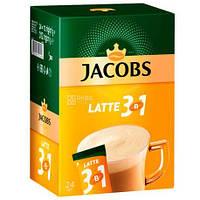 Кофе растворимый  Jacobs Monarch Latte 3в1, стик (10 штук) (37690004)