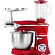 Кухонная машина 3 в 1 Royalty Line RL-PKM-1900.7BG Red