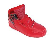 Кросівки жіночі теплі червоні (р. 36-41)