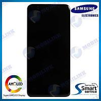 Дисплей на Samsung A307 Galaxy A30S Чёрный(Black),GH82-21190A, Super AMOLED!