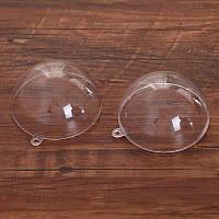 Пластиковая форма для декора Шар 10 см., фото 1