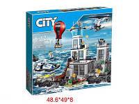 Конструктор Остров-тюрьма 65007 ( аналог  Lego City 60130)