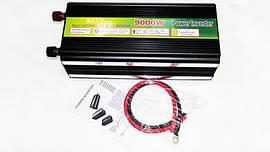 Перетворювач авто інвертор 9000W 12V-220V