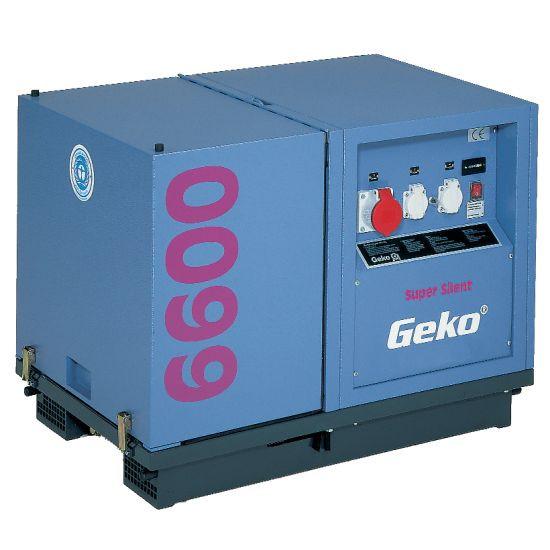 Трехфазный бензиновый генератор GEKO 6600 ED-AA/HHBA SS (6,1 кВа)