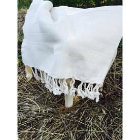 Полотенце пляжное Buldans - Pestamal Harman белое 100*180