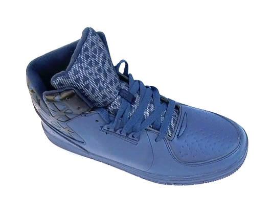 Мужские тёплые кроссовки синие (р.40-46)