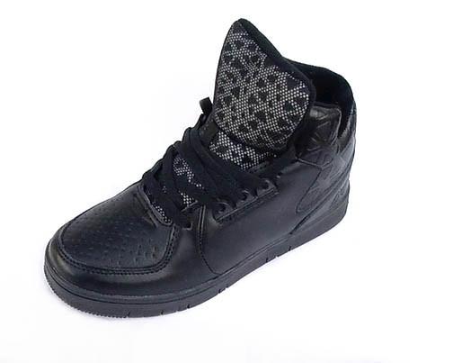 Кросівки чорні теплі (унісекс)