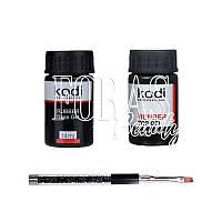 Набор Kodi Base 14 ml + Kodi Top 14 ml с шикарной кисточкой