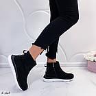 Женские демисезонные ботинки в черном цвете из натуральной замши  37 39 ПОСЛЕДНИЕ РАЗМЕРЫ, фото 5