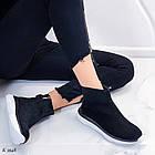 Женские демисезонные ботинки в черном цвете из натуральной замши  37 39 ПОСЛЕДНИЕ РАЗМЕРЫ, фото 8