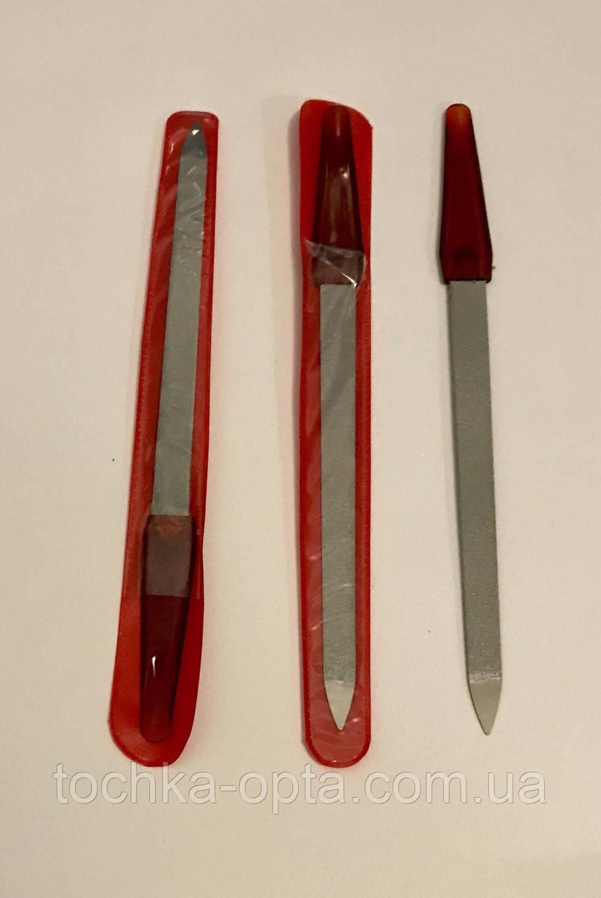 Пилочка для ногтей с красной ручкой 190 мм