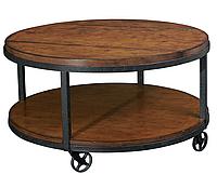 """Кофейный столик на колесиках """"Loft Go"""", кофейный столик, столик для прихожей, маленький столик"""
