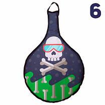 Санки Ледянки Мягкие M'YAKO - Снежный Пират №6 Украина