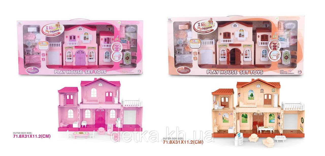 Ляльковий будинок 6661/2 смебелью батар.муз.світло.