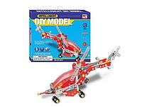 Конструктор металлический Same Toy Inteligent DIY Model Самолет 207 элементов (WC38CUt)