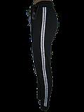 Брюки женские черные лампас 774-4, фото 2