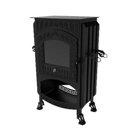 Печь для дома длительного горения в греческом стиле, фото 2