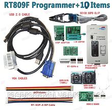 Программатор RT809F + 10 аксессуаров + тестовый зажим SOP8 + адаптер 1,8 В + TSSOP8 / SSOP8