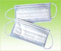 Маска процедурная, 3-х слойная, на резинках (Не стерильная) №100