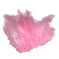 Декоративные перья розовые (100 шт), фото 1