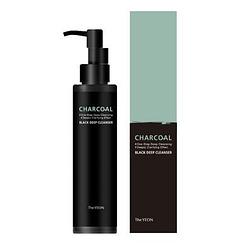 Гибридное гель-масло для глубокого очищения кожи The YEON Charcoal Black Deep Cleanser - 150 мл