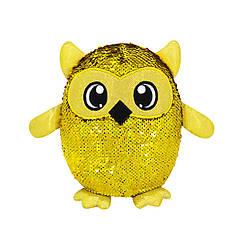 Мягкая игрушка с пайетками SHIMMEEZ S3 - СОВА ОКЛИ (20 cm)