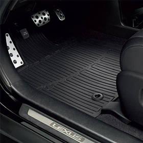 Коврики в салон Lexus RX 2009-2012, резина 4шт PZ49LK0356RJ