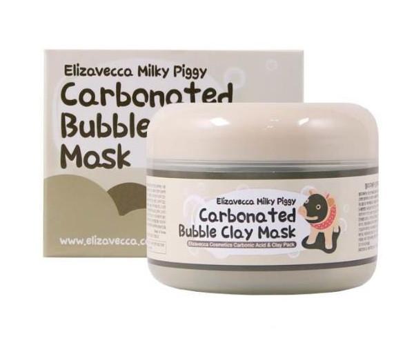 Маска для обличчя Elizavecca Carbonated Bubble Clay Mask