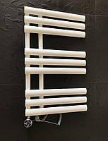 Белый электрический полотенцесушитель 500х820 GRASSE 9/820 Arttidesign