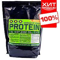 Сывороточный протеин для роста мышц 78% белка на развес (тертый шоколад)