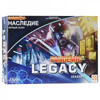 Пандемия: Наследие сезон 1 Синяя коробка (Pandemic: Legacy season 1) - Настольная игра. Стиль жизни (911748)