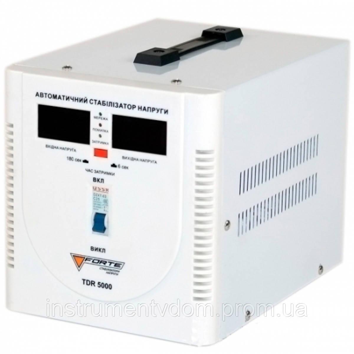 Стабилизатор напряжения FORTE TDR-5000VА (релейный)