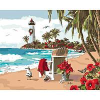 Картина по номерам Испанский залив КНО2825 Идейка 40x50см