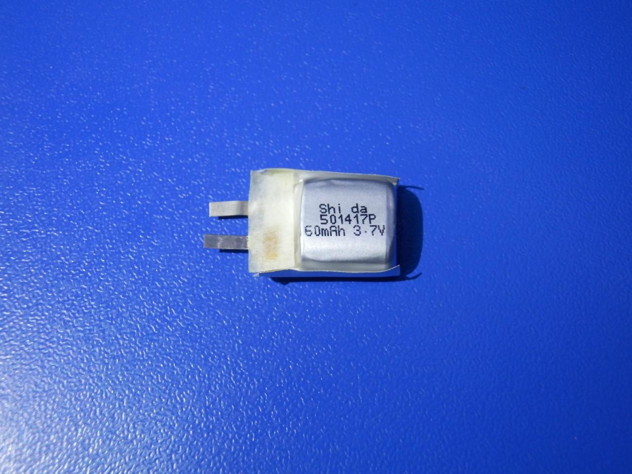 Аккумулятор Li-pol Shida 501417P 3,7v 60mAh