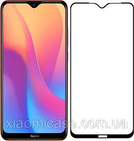 Защитное стекло Full Glue для Xiaomi (Ксиоми) Redmi 8 (на весь экран)