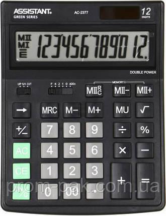 Калькулятор  ASSISTANT  AC-2377, фото 2