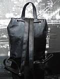 Рюкзак чёрный женский или подростковый. Рюкзак женский. Рюкзак подростковый чёрный., фото 2