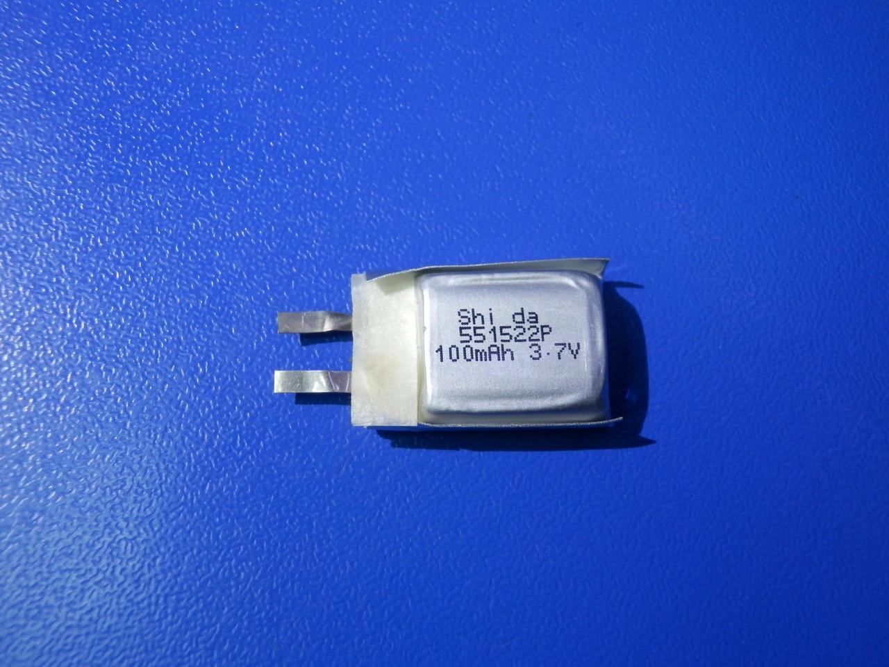 Акумулятор Li-pol Shida 551522P 3,7 v 100mAh