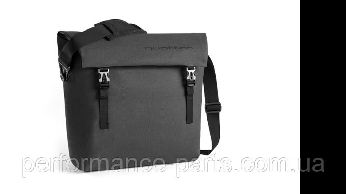 Наплічна сумка Audi quattro Shoulder Bag, Dark Grey,3151800600
