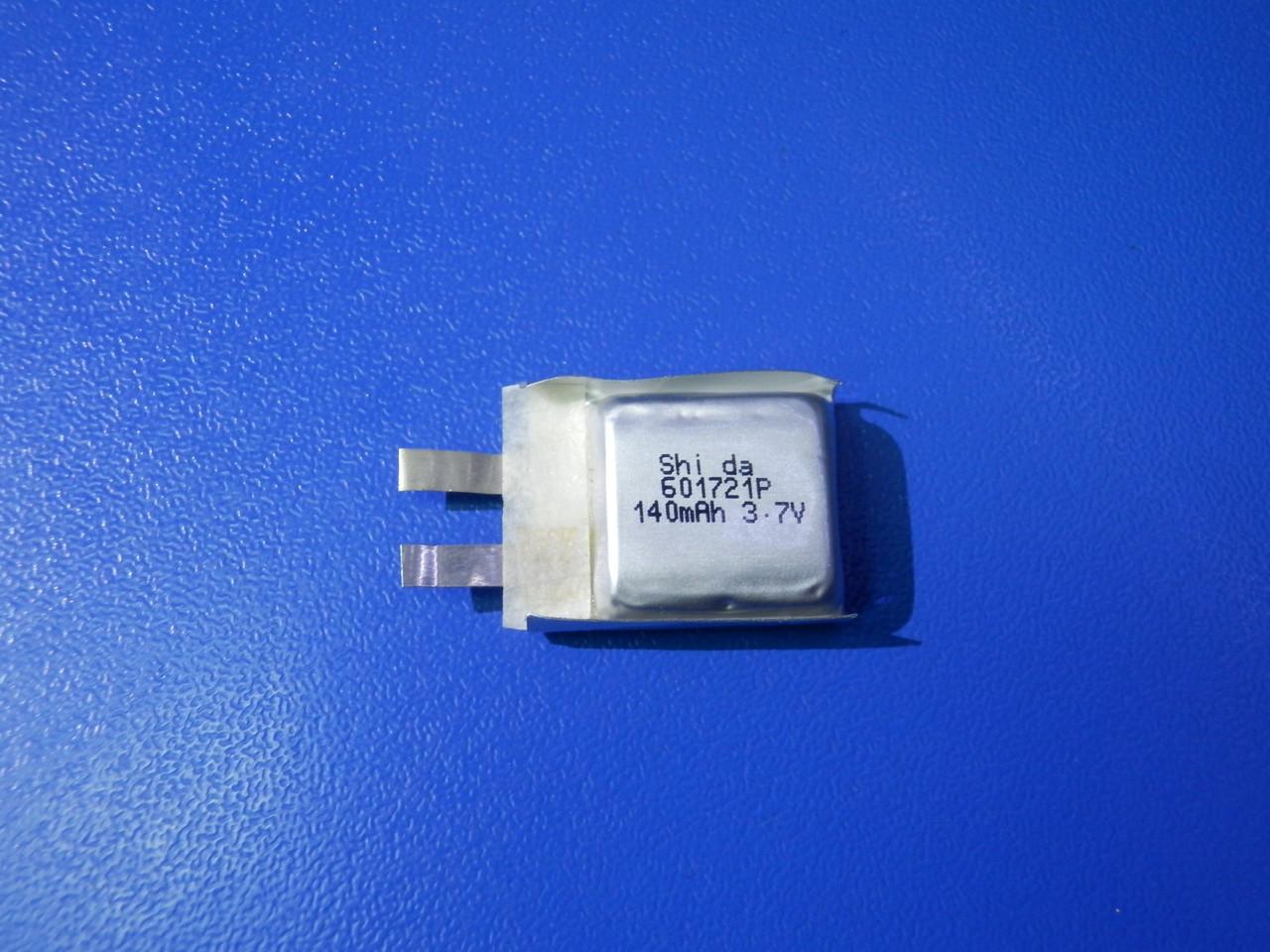 Акумулятор Li-pol Shida 601721P 3,7 v 140mAh