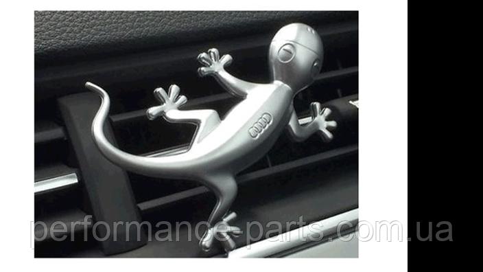Алюминиевая фигурка геккона в салон Audi Design Gecko Aluminium,80A087000